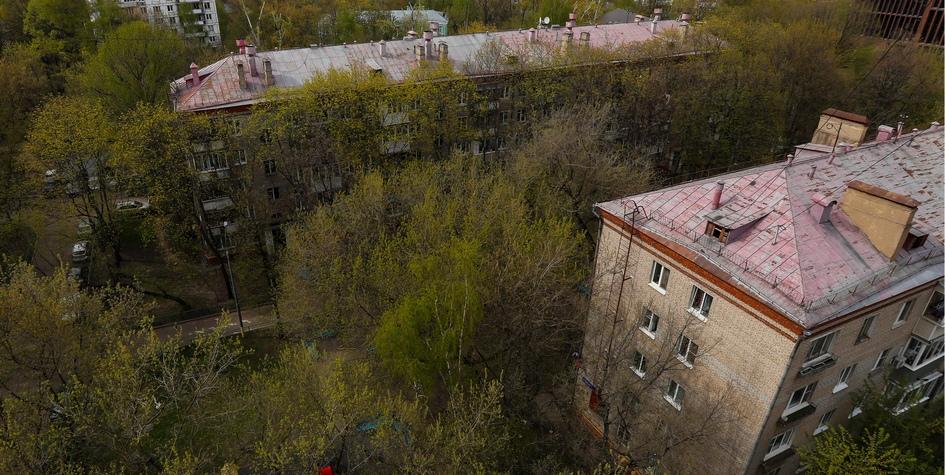 Хрущевки вМоскве