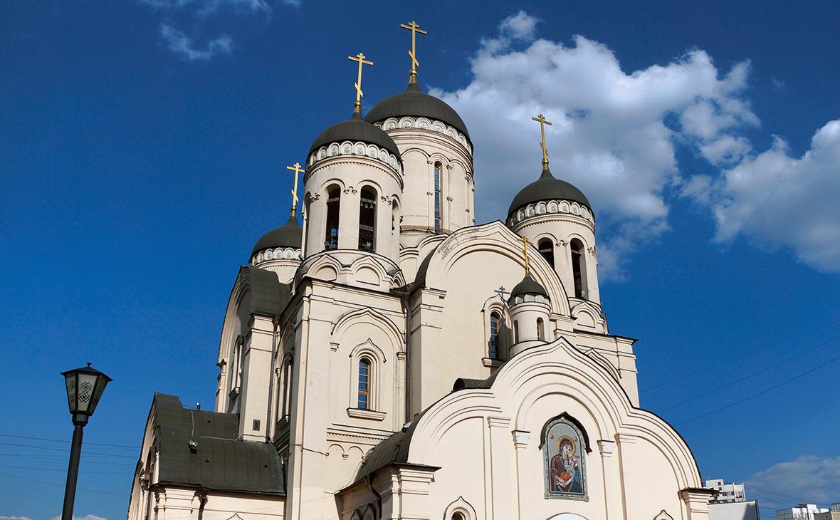 """Храм в честь иконы Божией матери """"Утоли моя печали"""" в Марьино"""