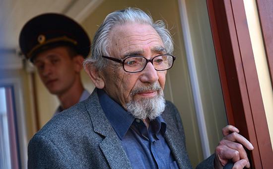 Борис Ходорковский в Следственном комитете в Москве