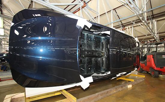 Сборка BMW 5-й серии на заводе «Автотор» в Калининграде