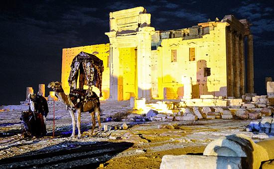 Храм Бел в античном городе Пальмире