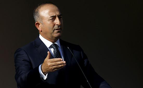 Министр иностранных дел Турции Мевлут Чавушоглу