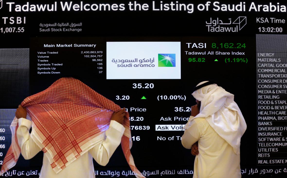 Акции Saudi Aramco упали до минимума на фоне убийства Сулеймани