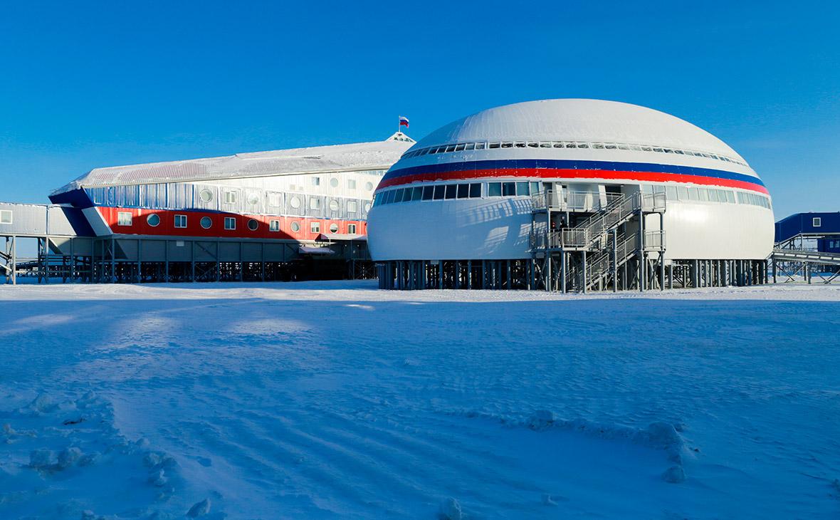 Российская военная база «Арктический трилистник»