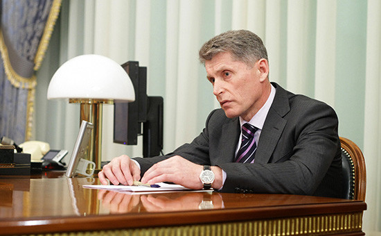 Губернатор Амурской области Олег Кожемяко