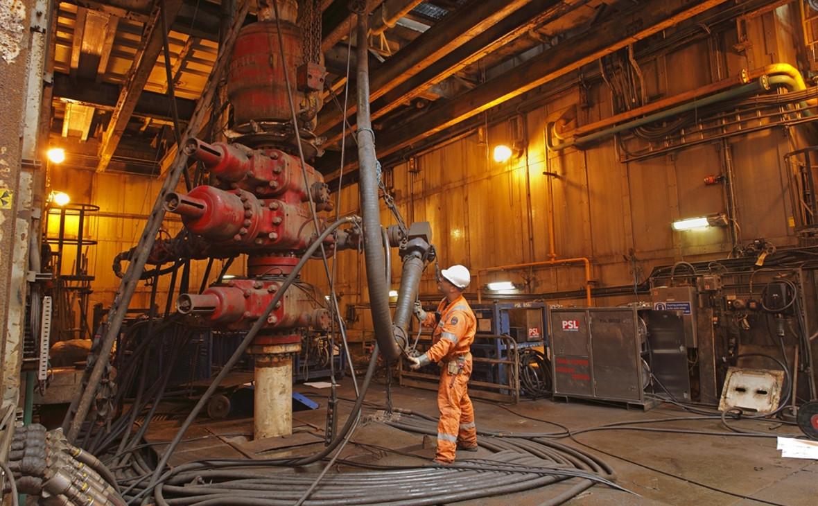 Нефтяная платформа Forties Charlie, Великобритания.