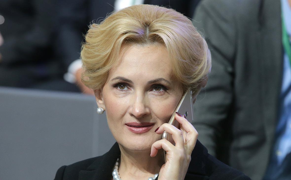 Автор пакета антитеррористических поправок Ирина Яровая