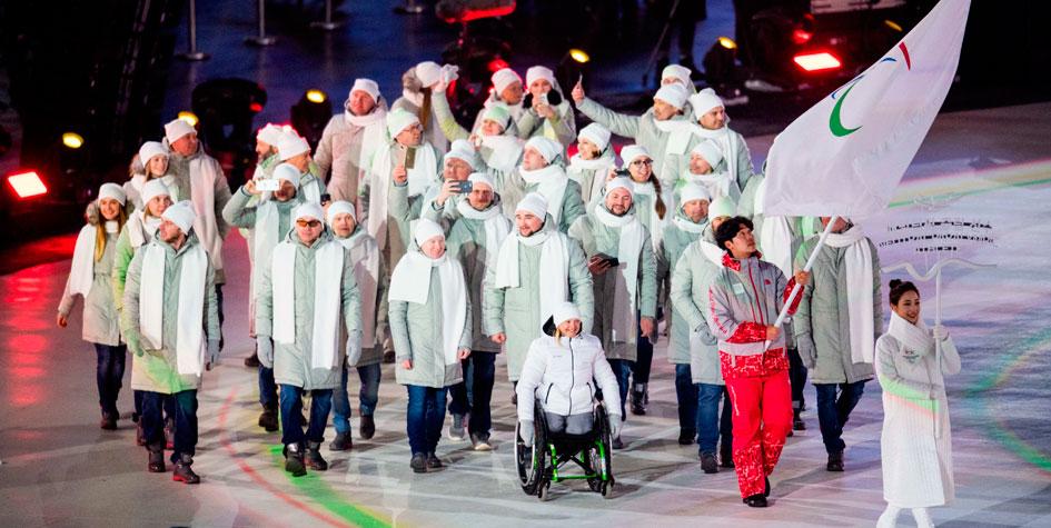 Сборная России заняла второе место на Паралимпиаде в Пхёнчхане