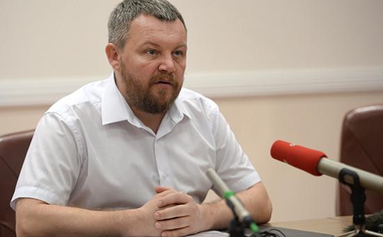 Спикер Народного собрания ДНР Андрей Пургин