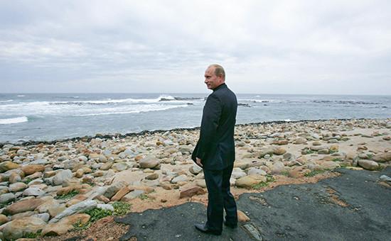 Президент России Владимир Путин, 2006 год