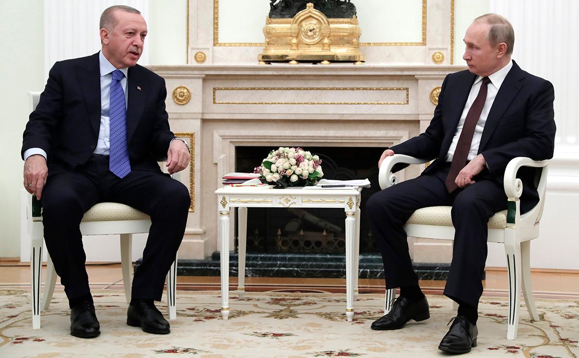 Эрдоган заявил Путину о правильном шаге в Карабахе