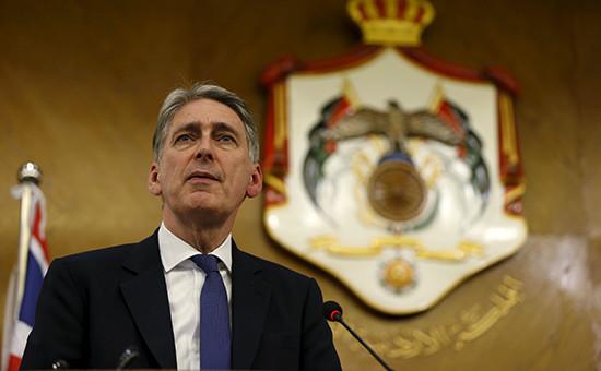 Министр иностранных дел Великобритании Филип Хэммонд