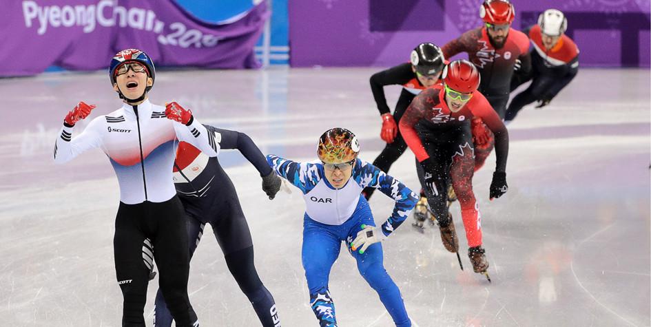 Елистратов принес России первую медаль на Олимпиаде-2018