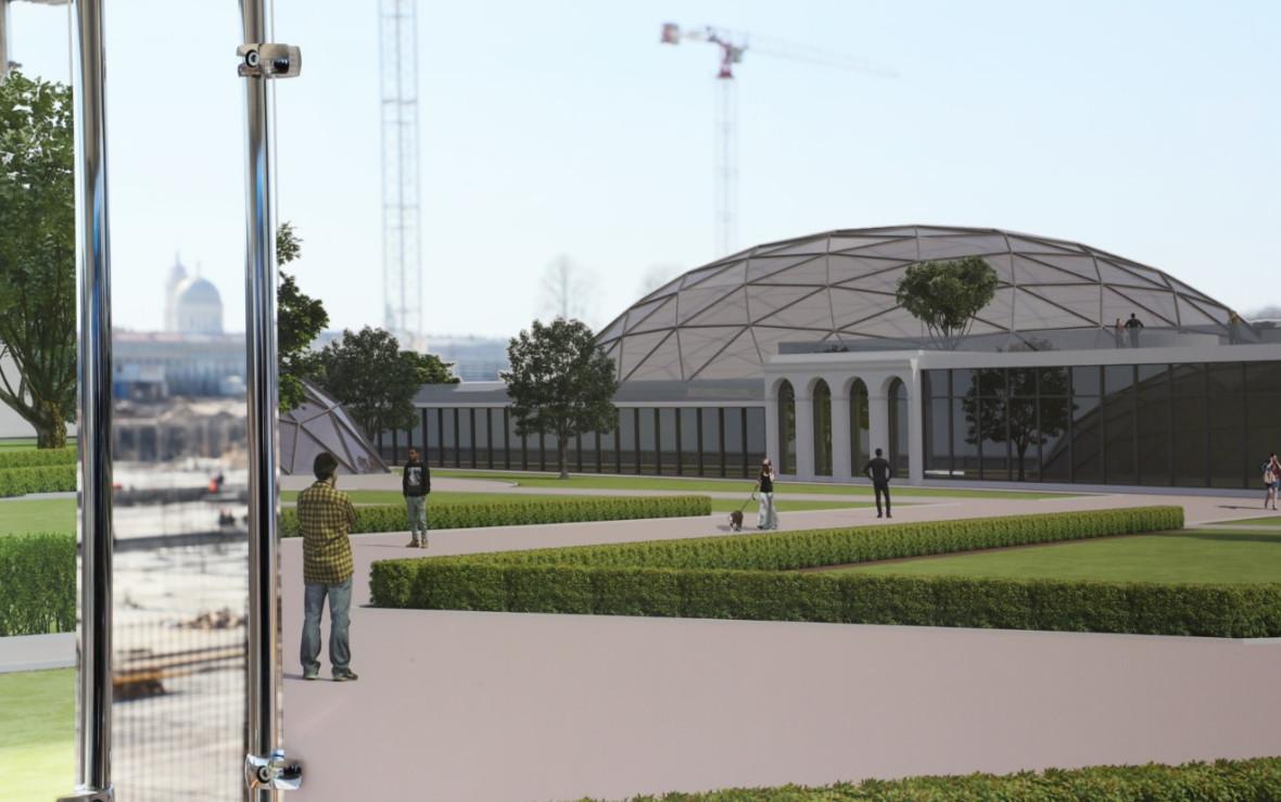 Проект арт-парка на проспекте Добролюбова