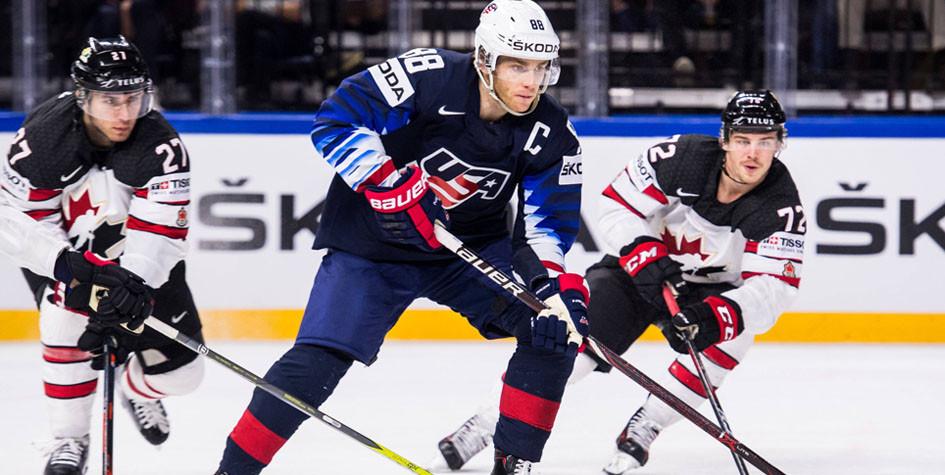 Сборная Канады осталась без медалей на чемпионате мира по хоккею