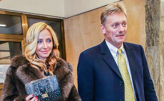 Олимпийская чемпионка Татьяна Навка и Дмитрий Песков