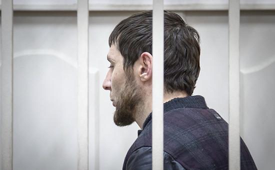 Обвиняемый в убийстве политика Бориса Немцова Заур Дадаев