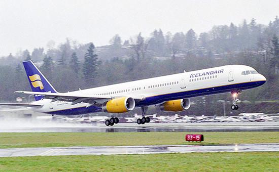 Boeing 757 исландской авиакомпании Icelandair