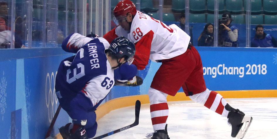Российские хоккеисты стартовали на Олимпиаде с поражения