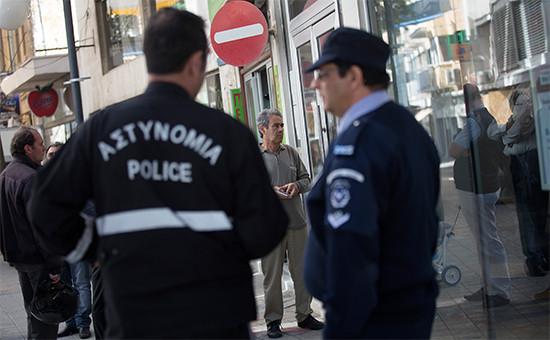Сотрудники полиции на Кипре