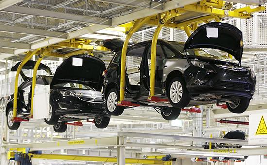 Сборка автомобилей Opel в Германии