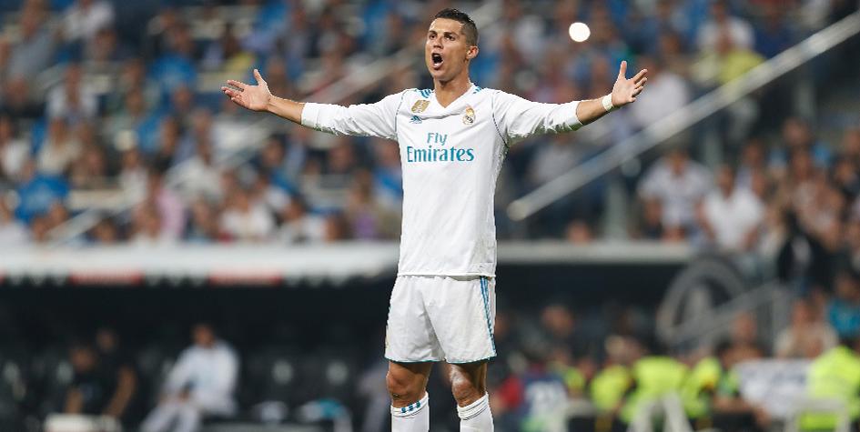 Хет-трик Криштиану Роналду принес «Реалу» крупную победу в Примере