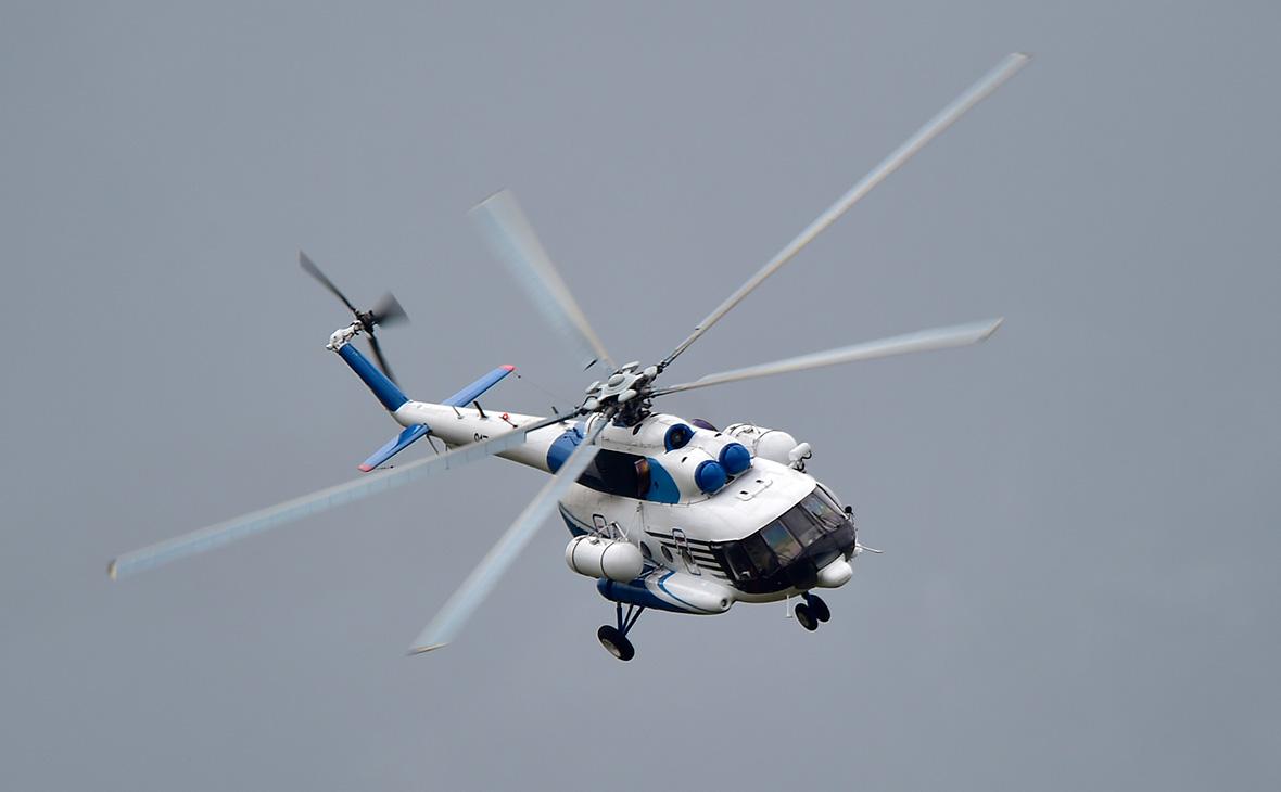 Разбившийся Ми-8 на взлете задел лопастями груз другого вертолета