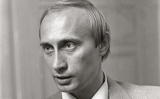 Президент России Владимир Путин в 1991 году