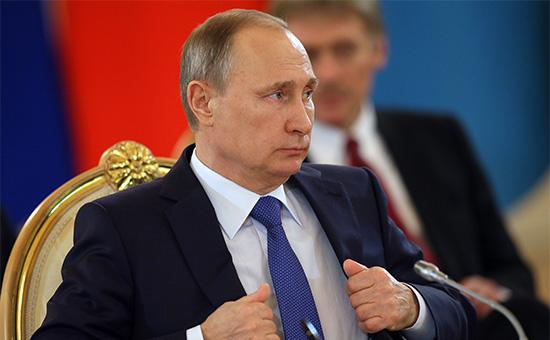 Президент РФВладимир Путин
