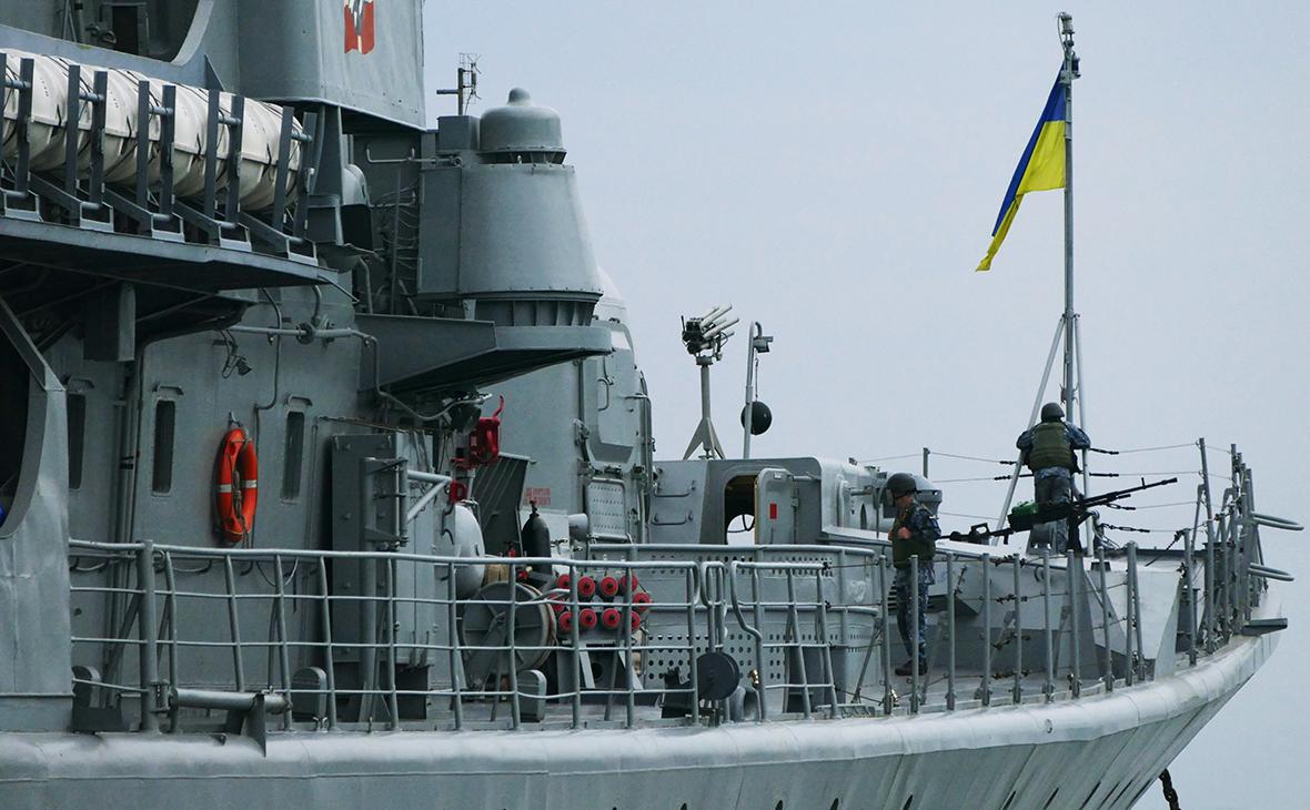Украинский фрегат «Гетман Сагайдачный»