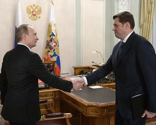Фото:В.Путин и А.Мордашов/kremlin.ru