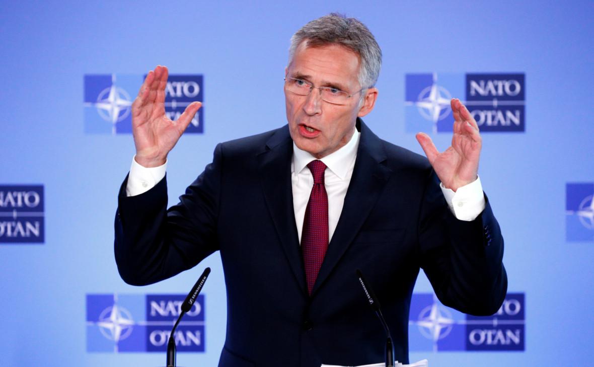 Генсек НАТО рассказал о создании центра киберзащиты на Украине