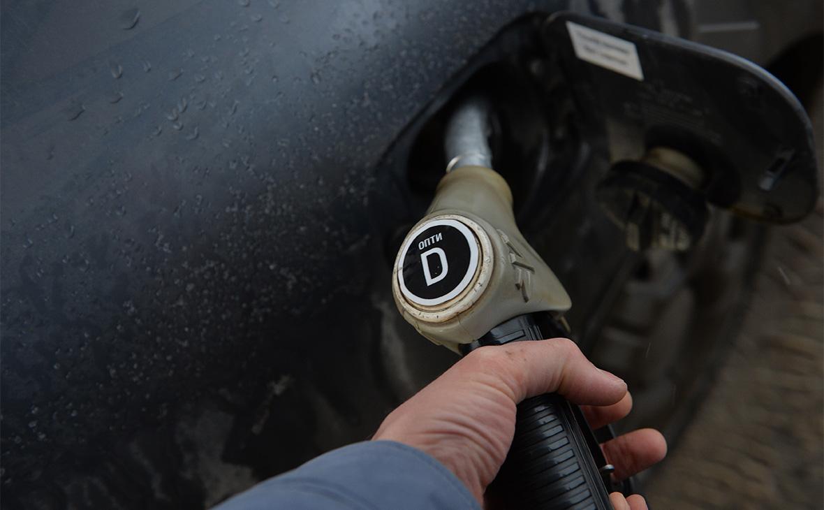 Цены на дизель на московских заправках пошли на спад