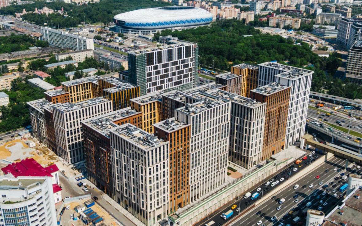 Проектный вид на ЖК «Царская площадь»