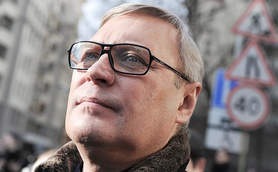Председатель оппозиционной партии ПАРНАС, бывшийпремьер-министр России Михаил Касьянов