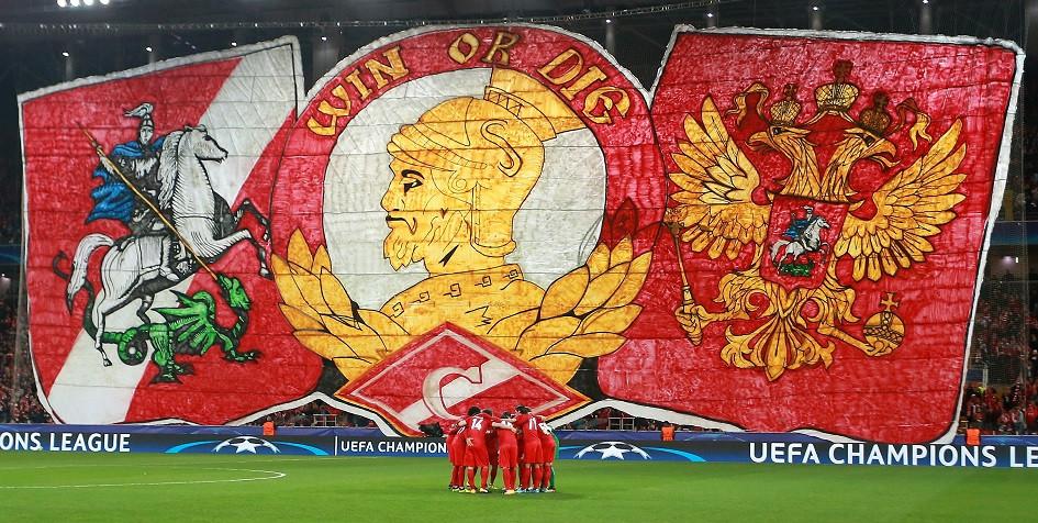 УЕФА наказал «Спартак» за поведение болельщиков в матче с «Ливерпулем»