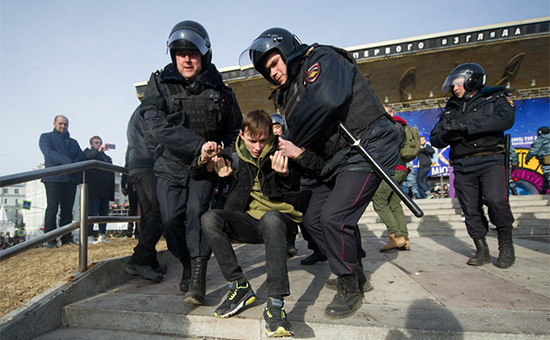 Акция протеста вМоскве