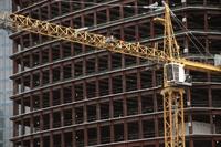 Фото:Расходы на строительство в Москве из-за кризиса сокращены втрое