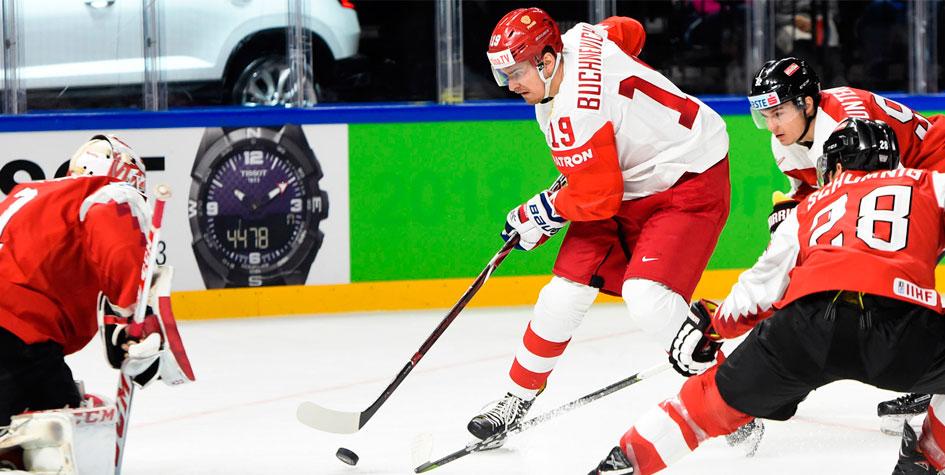 Российские хоккеисты во второй раз подряд победили со счетом 7:0 на ЧМ