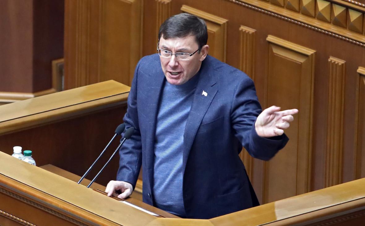 Верховная рада одобрила отставку генпрокурора Луценко