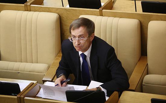 Вице-спикер Госдумы от «Справедливой России» Николай Левичев