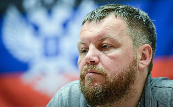 Первый вице-премьер Донецкой народной республики Андрей Пургин
