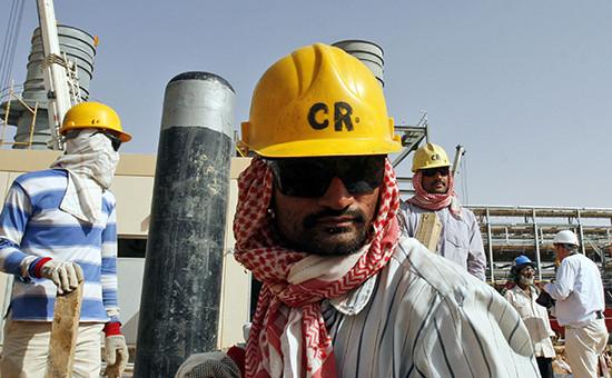 Добыча нефти вСаудовской Аравии