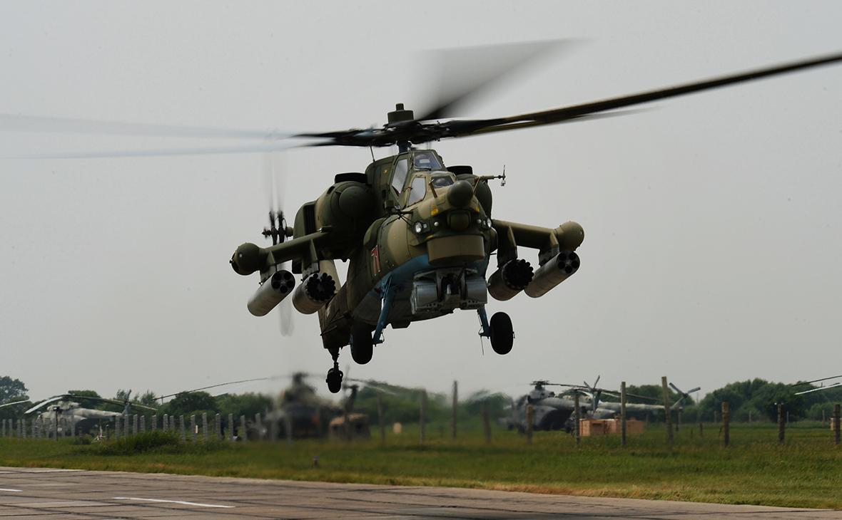 Ми-28. Июль 2017 года