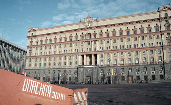 Здание ФСБ на Большой Лубянке