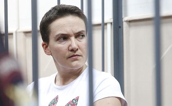 Бывшая украинская летчица Надежда Савченко, обвиняемая в причастности к убийству российских журналистов под Луганском
