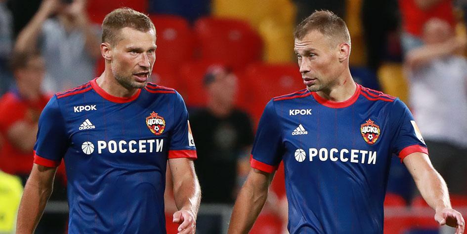 Братья Березуцкие ушли из сборной России по футболу