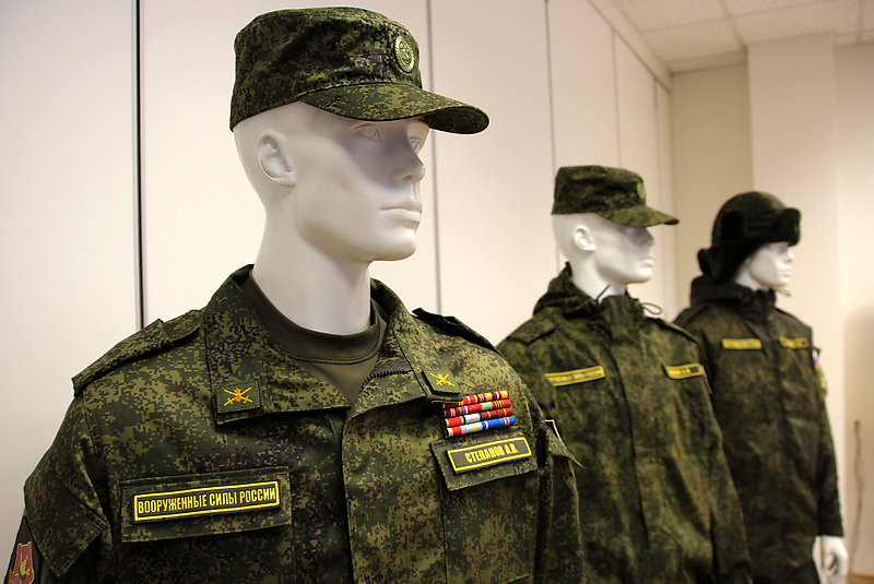Комплект новой военной полевой формы, разработанный «БТК групп»