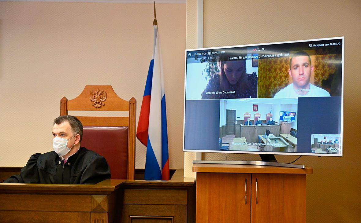 Судья Верховного суда проводит первое в России онлайн-заседание