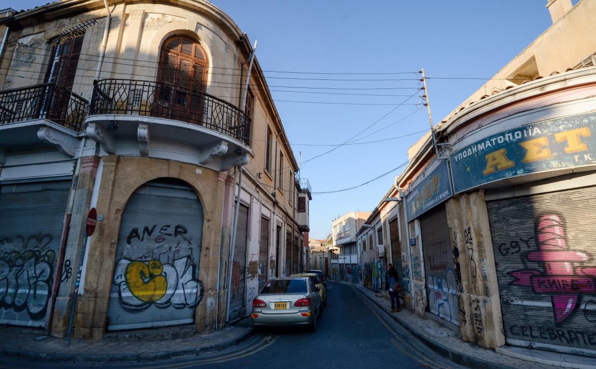 Улица в Никосии, Кипр